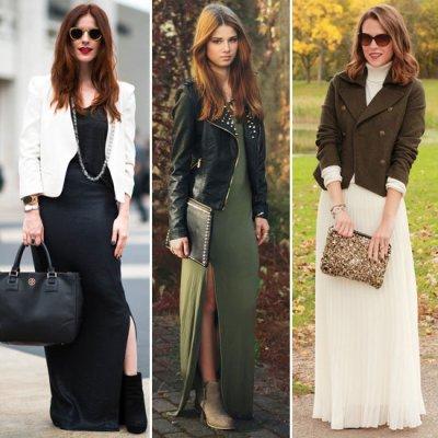 Styling Maxi Dresses - Fall