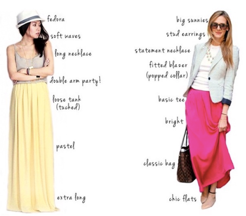 Styling tips - Maxi