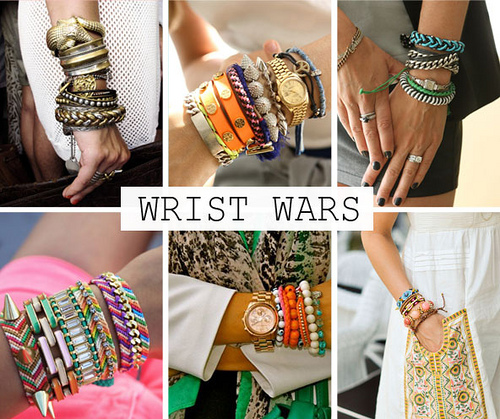 It's all in the Wrist : The Arm Swags